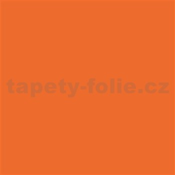 Samolepiace tapety - reflexná oranžová - 45 cm x 15 m