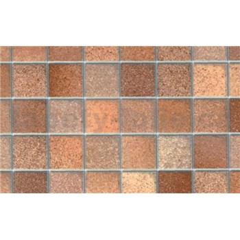 Samolepiace tapety - mozaika hnedá 90 cm x 15 m