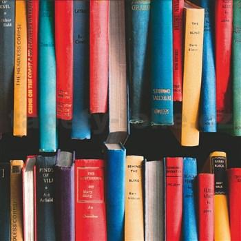 Samolepiace tapety knihy, metráž, šírka 67,5 cm, návin 15m,