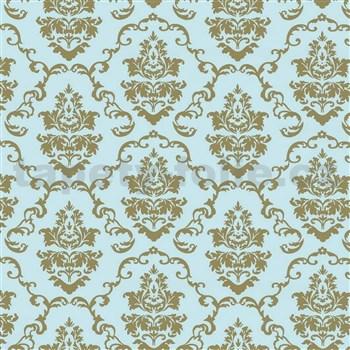 Samolepiace tapety ornamenty zlaté - 45 cm x 15 m