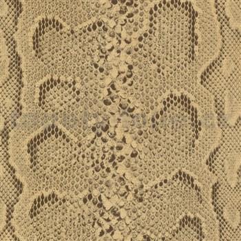 Samolepiace tapety koža hada hnedá 45 cm x 15 m