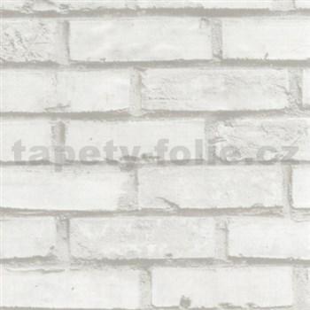 Samolepiace fólie tehla biela  45 cm x 15 m