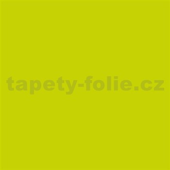 Samolepiace tapety limetková lesklá 45 cm x 15 m