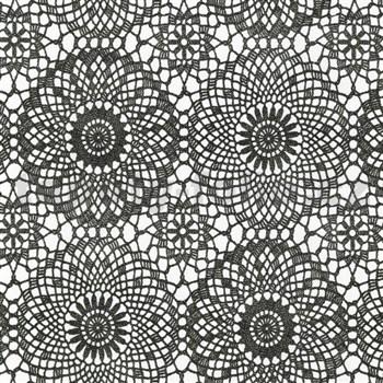 Samolepiace tapety čierne kontúry 45 cm x 15 m