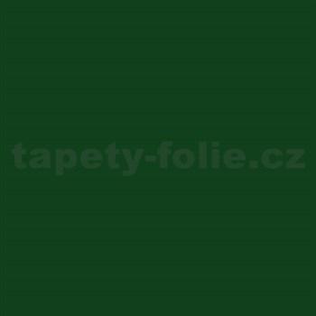 Samolepiace tapety tmavo zelená lesklá 45 cm x 15 m