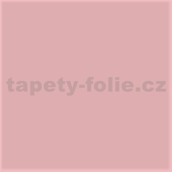 Samolepiace tapety pastelová ružová mat 45 cm x 15 m