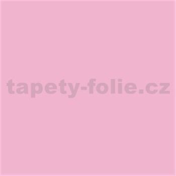 Samolepiace tapety pastelová ružová lesklá 45 cm x 15 m