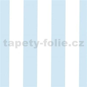 Samolepiace tapety široké pruhy modré 90 cm x 15 m