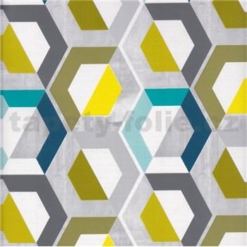 Samolepiace tapety moderný vzor geometrický 45 cm x 15 m