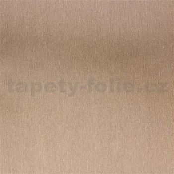 Samolepiace fólie nerezová zlatá - 45 cm x 15 m