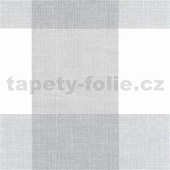 Samolepiace fólie štvorce sivo-biele - 45 cm x 15 m