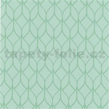 Samolepiace fólie listy zelené - 45 cm x 15 m