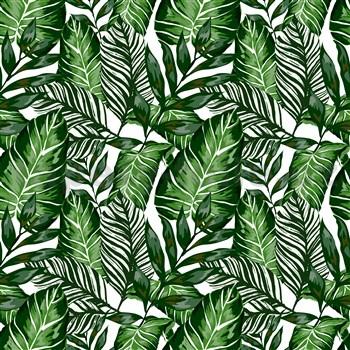 Samolepiace fólie tropical listy - 67,5 cm x 15 m