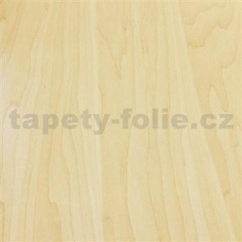 Samolepiace tapety bukové prírodné drevo - renovácia dverí - 90 cm x 210 cm