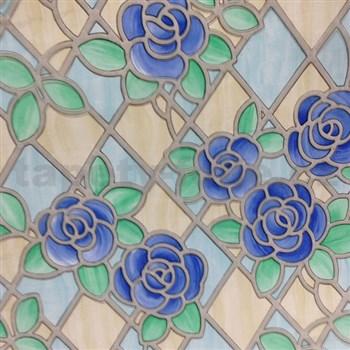 Statická fólia transparentná Tiffany 45 cm x 15 m