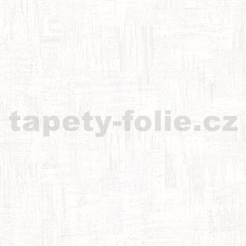 Vliesové tapety na stenu IMPOL Giulia pravidelná stierka s metalickými odleskami biela