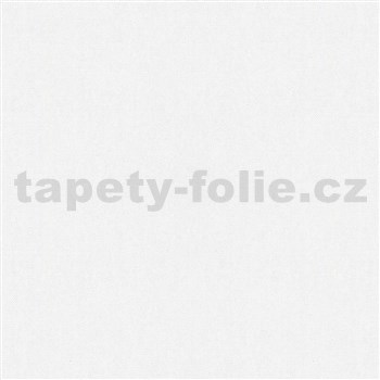 Vliesové tapety na stenu IMPOL Giulia jednofarebná s textilnou štruktúrou biela