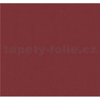 Vliesové tapety na stenu Glamour štrukturovaná červená s leskom