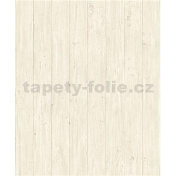 Vliesové tapety na stenu Facade drevené dosky hnedé