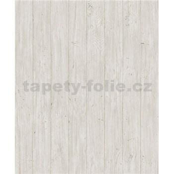 Vliesové tapety na stenu Facade drevené dosky svetlo hnedé