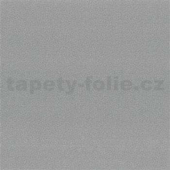 Vliesové tapety na stenu Graphics Alive - malý Labyrint strieborný
