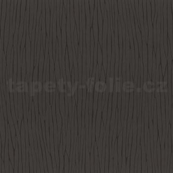 Vliesové tapety na stenu Graphics Alive - nepravidelné prúžky hnedej