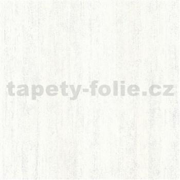 Vliesové tapety na stenu IMPOL Hailey vertikálna stierka biela s trblietkami