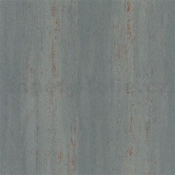 Vliesové tapety na stenu IMPOL Hailey vertikálna stierka sivá s bronzovými odleskami a trblietkami