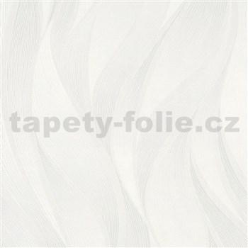 Vliesové tapety na stenu IMPOL Hailey vlnovky krémovo biele