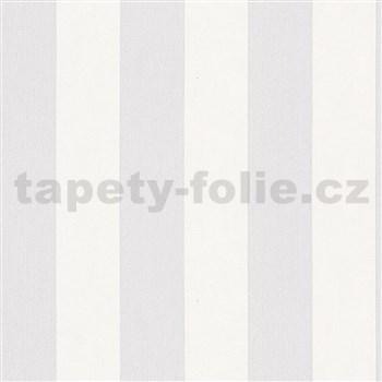 Vliesové tapety na stenu IMPOL Hailey pruhy sivo-biele