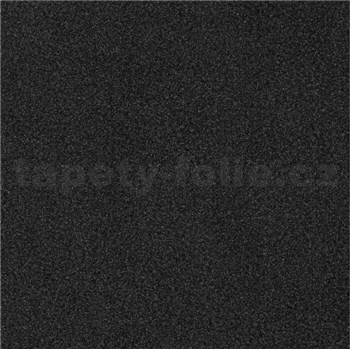 Vliesové tapety na stenu IDEA OF ART štruktúrované čierne so striebornými odleskami