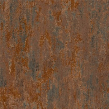 Vliesové tapety na stenu Il Decoro industriálna omietka medená