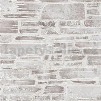 Papírové tapety na stenu Il Decoro kameň hnedý