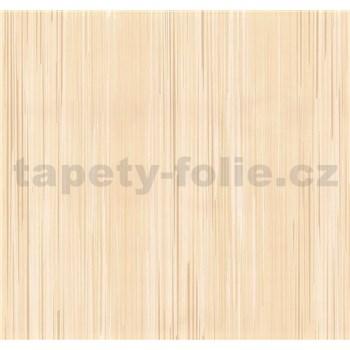 Vliesové tapety na stenu Infinity prúžky hnedo-biele