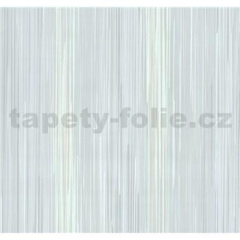 Vliesové tapety na stenu Infinity prúžky sivo-hnedé