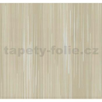Vliesové tapety na stenu Infinity prúžky hnedo-sivé