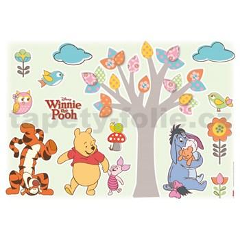 Samolepky na stenu Disney Medvedík Pú milovníci prírody rozmer 50 cm x 70 cm