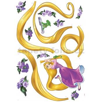 Samolepky na stenu Disney Princess Rapunzel rozmer 100 cm x 70 cm