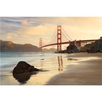 Vliesové fototapety Golden Gate rozmer 368 cm x 248 cm