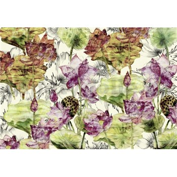 Vliesové fototapety Lotus rozmer 368 cm x 248 cm