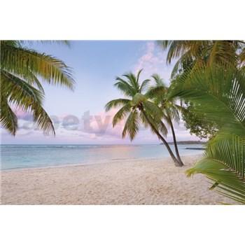 Vliesové fototapety svitanie na pláži rozmer 368 cm x 248 cm