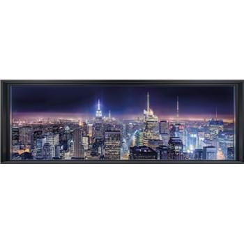 Papierové fototapety Sparkling New York 368 cm x 127 cm