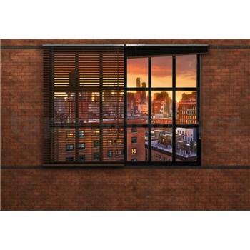 Papierové fototapety Brooklyn Brick 368 cm x 254 cm