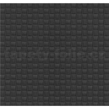 Vliesové tapety na stenu G. M. Kretschmer kachličky čierne