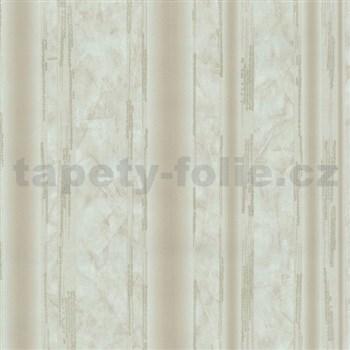 Vliesové tapety na stenu G. M. Kretschmer II pruhy svetlo hnedé