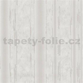 Vliesové tapety na stenu G. M. Kretschmer II pruhy bielo-sivé
