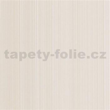 Vliesové tapety na stenu G. M. Kretschmer Sommeraktion prúžky svetle hnedé