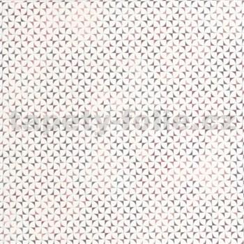 Vliesové tapety na stenu G. M. Kretschmer Sommeraktion 3D abstrakt biely a modro-ružový