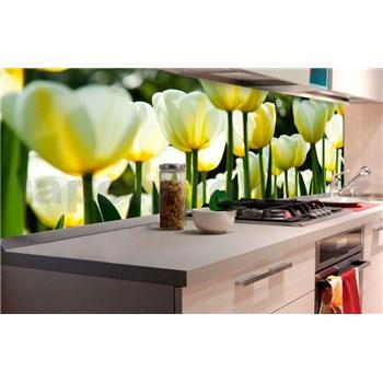 Samolepiace tapety za kuchynskú linku tulipány rozmer 180 cm x 60 cm