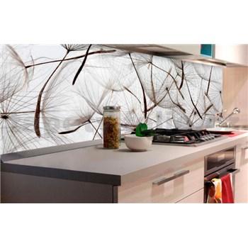 Samolepiace tapety za kuchynskú linku lietajúce púpavy rozmer 180 cm x 60 cm